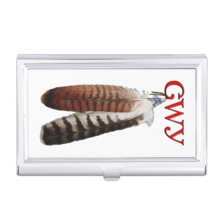 Cherokee Pride Business Card Case