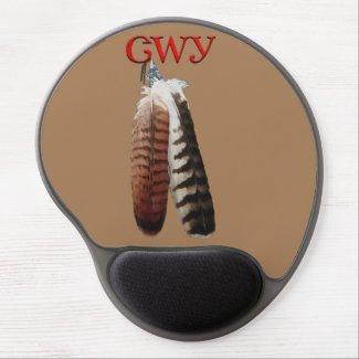 Cherokee Pride Gel Mouse Pad