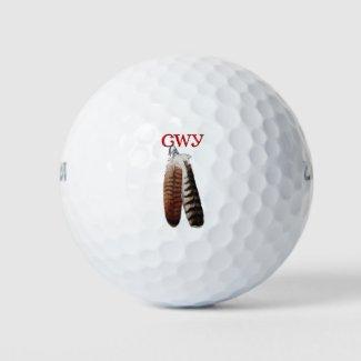 Cherokee Pride Golf Balls