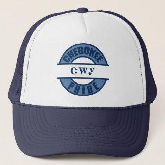 Cherokee Pride in Navy Trucker Hat