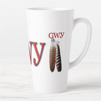 Cherokee Pride Latte Mug