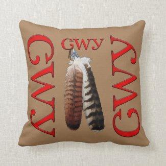 Cherokee Pride Throw Pillow
