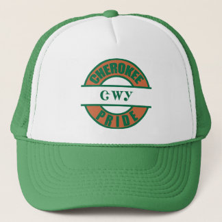 Cherokee Pride Tribal Trucker Hat