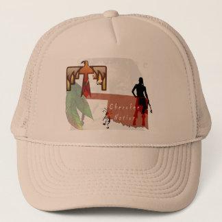 cherokee proud trucker hat