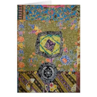 Cherokee Quilt Card