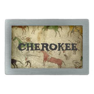 Cherokee Rectangular Belt Buckle