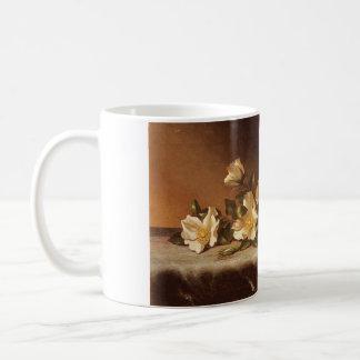 Cherokee Roses... Martin Johnson Heade Classic White Coffee Mug
