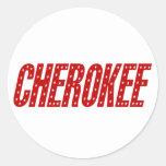 Cherokee Star Stickers