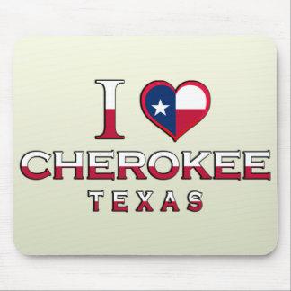 Cherokee, Tejas Tapete De Ratón