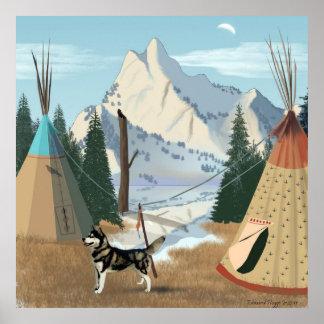 Cherokee Village Print