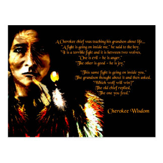 Cherokee Wisdom Postcards