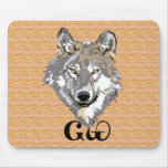 Cherokee Wolf Lover Mousepad