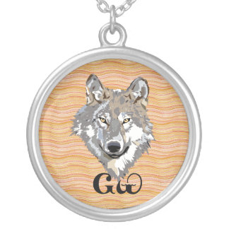 Cherokee Wolf Lover Pendant