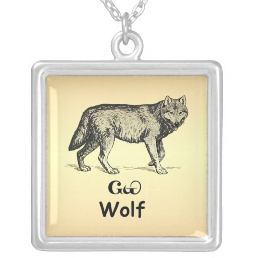 Cherokee Wolf Necklace