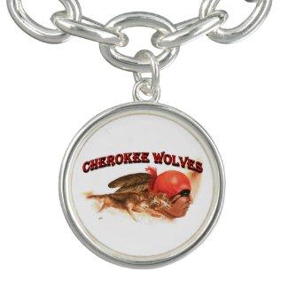 Cherokee Wolves Bracelet