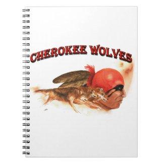 Cherokee Wolves Notebook