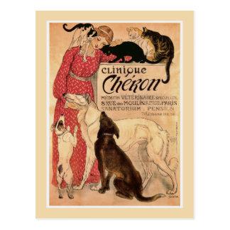 Cheron Clinique post card
