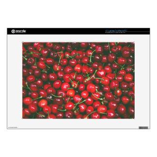 "Cherries... 15"" Laptop Skin"