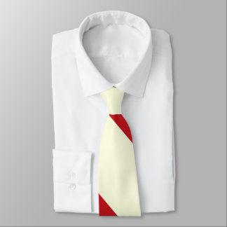 Cherries and Cream Broad University Stripe Neck Tie