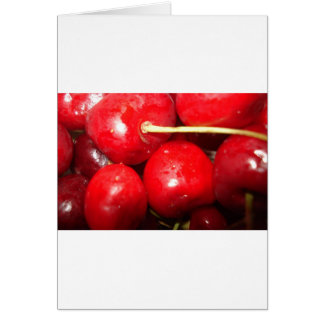 Cherries Art Photo Card