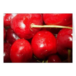 Cherries Art Photo Greeting Card