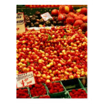 Cherries at Pike Place Market Postcards