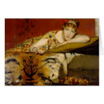 Cherries by Lawrence Alma-Tadema Greeting Cards