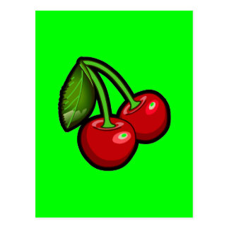 Cherries by PinkGirlz Postcard