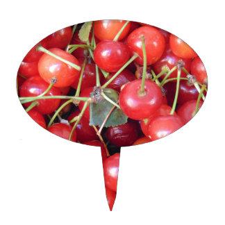 Cherries Cake Topper