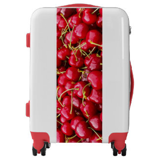 Cherries carry on luggage