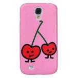 Cherries cell case - HTC Vivid Galaxy S4 Case