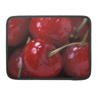Cherries cherry fruit food snacks sleeve for MacBook pro