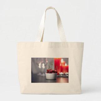 Cherries Cloth Shopping Bag
