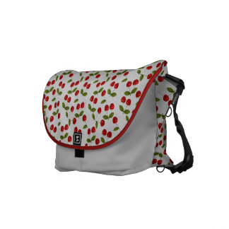 cherries courier bag