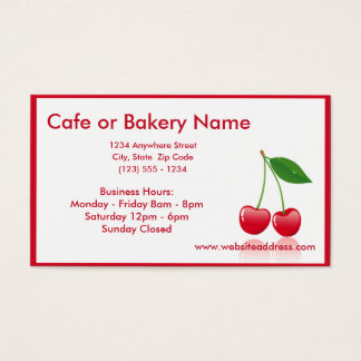 Cherries D2 Business Cards