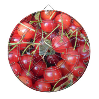 Cherries Dartboard With Darts