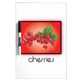 Cherries Dry Erase Board