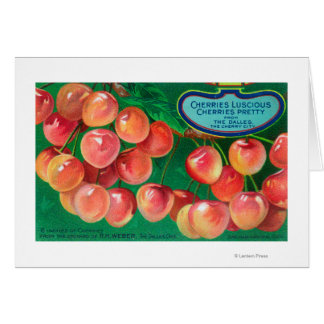 Cherries from the Cherry CityThe Dalles, OR Card
