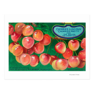 Cherries from the Cherry CityThe Dalles, OR Postcard