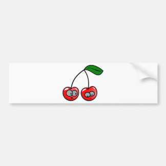 Cherries Fun Bumper Sticker