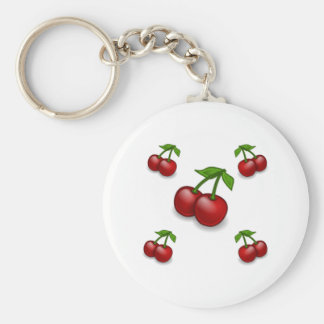Cherries Galore Design Keychain