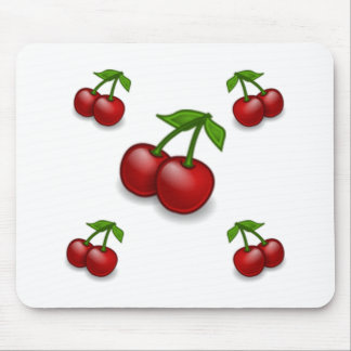 Cherries Galore Design Mouse Pad