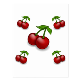 Cherries Galore Design Post Card