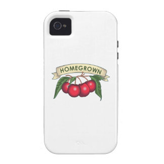 CHERRIES HOMEGROWN Case-Mate iPhone 4 COVERS