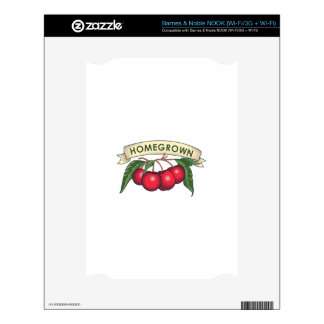 CHERRIES HOMEGROWN DECAL FOR THE NOOK