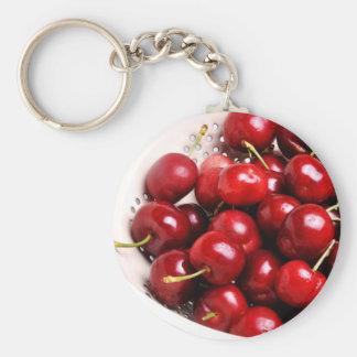 Cherries in a Bowl Keychain