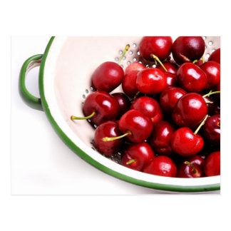Cherries in a Bowl Postcard
