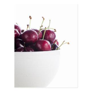 Cherries in Bowl Postcard