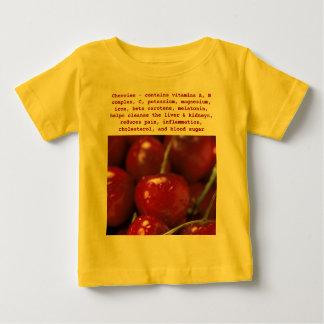 Cherries infant shirt