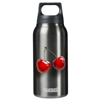 Cherries Insulated Water Bottle